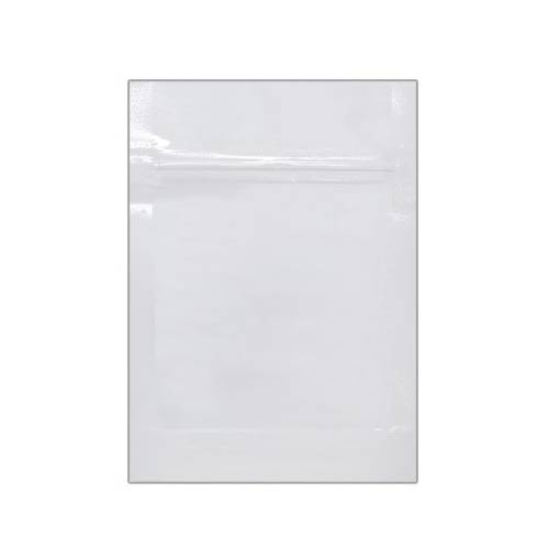 White Mylar Bag 1 Gram - 1,000 Units
