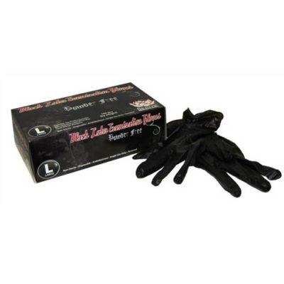 Skintx Black Latex Powder-Free GlovesSkintx Black Latex Powder-Free Gloves